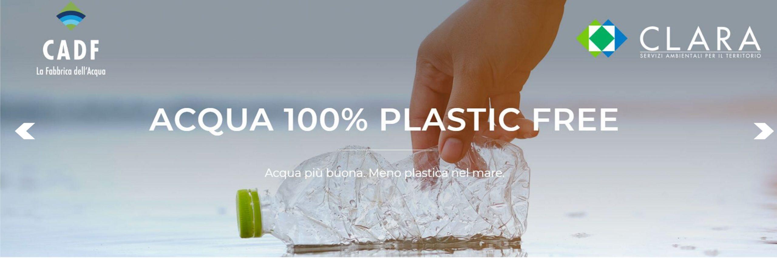 """Riparte il progetto """"Acqua 100% Plastic Free"""" sulle spiagge"""
