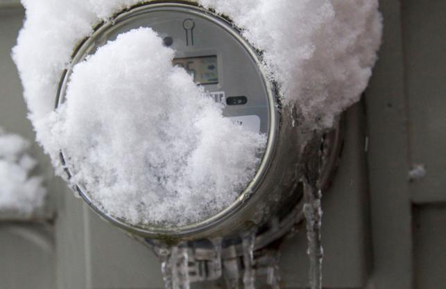 Proteggi il contatore dell'acqua dal gelo