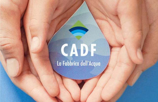 Report integrato CADF 2019: il valore dell'acqua