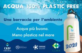 Acqua: 100% Plastic Free torna sulle spiagge