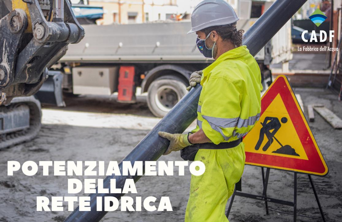 Potenziamento della rete idrica: Lido Pomposa e Tresignana