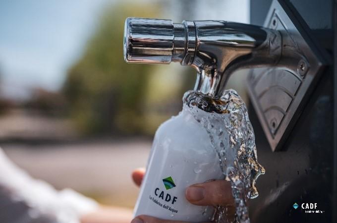 CADF per il territorio: 8 nuove fontanelle